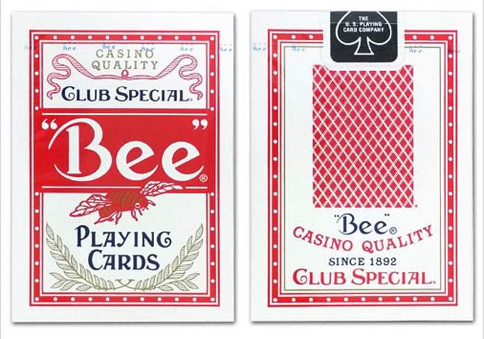 정품비덱레드_카지노디자인(Bee deck_clubspecial_casinoquality)_by USPC