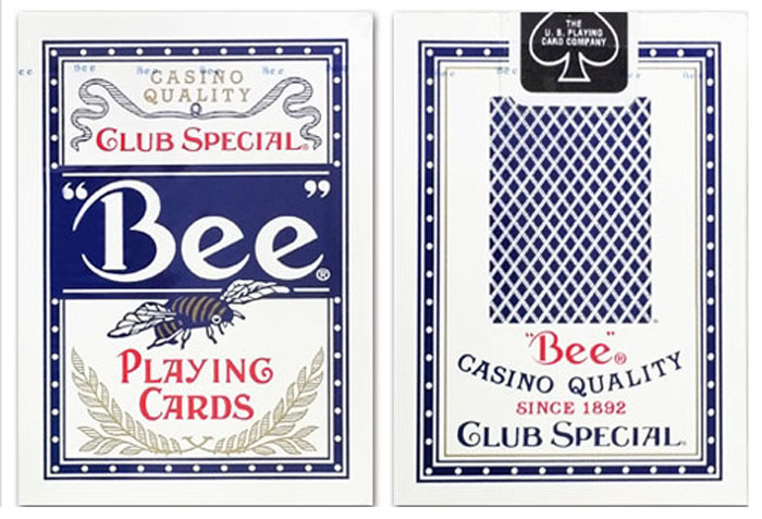 정품비덱블루_카지노디자인(Bee deck_clubspecial_casinoquality)_by USPCC