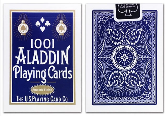 알라딘덱_블루(Aladdin Playing Cards, Standard Featherback_Blue)